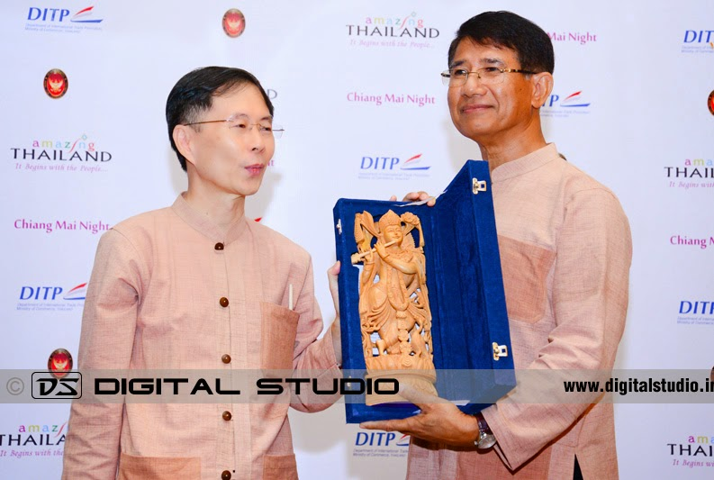 Award giving ceremony photograph