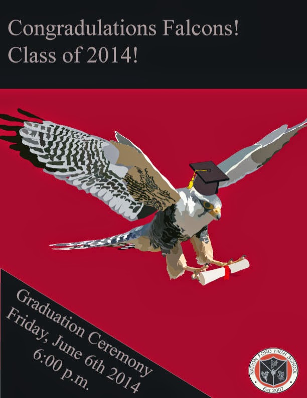 Digital Art  Design 2014 Graduation Program - graduation program covers