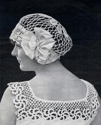 The Vintage Pattern Files 1910 S Crochet Novelty Yokes