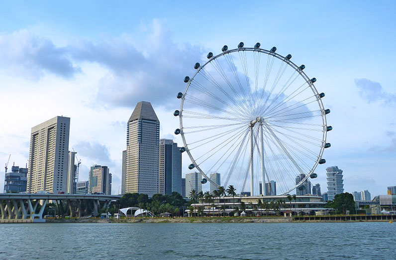 Singapore – Hubby's second home