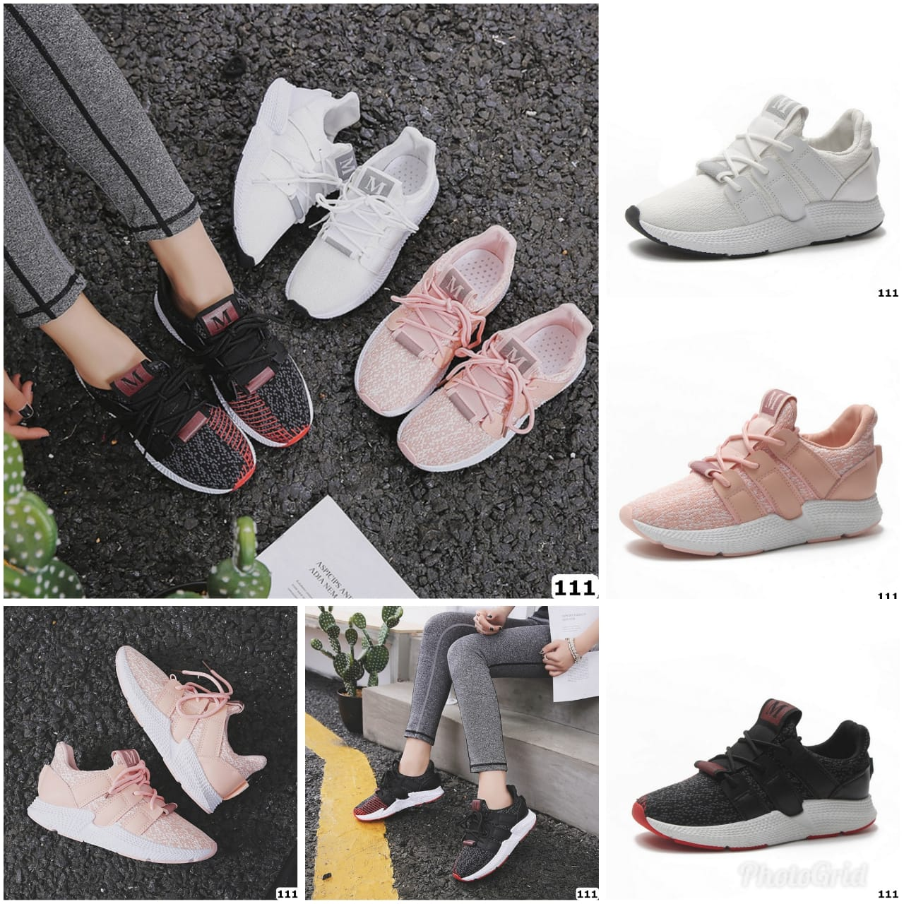 Kode GI 006 : Darlen Breathable Mesh Sneaker Shoes 111 - PSB 9