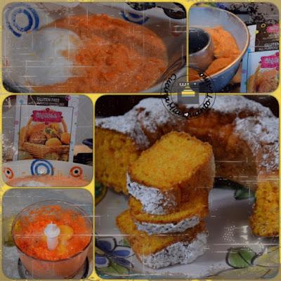 Torta di carote senza glutine ne lattosio