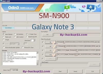 سوفت وير هاتف Galaxy Note 3 موديل SM-N900 روم الاصلاح 4 ملفات تحميل مباشر