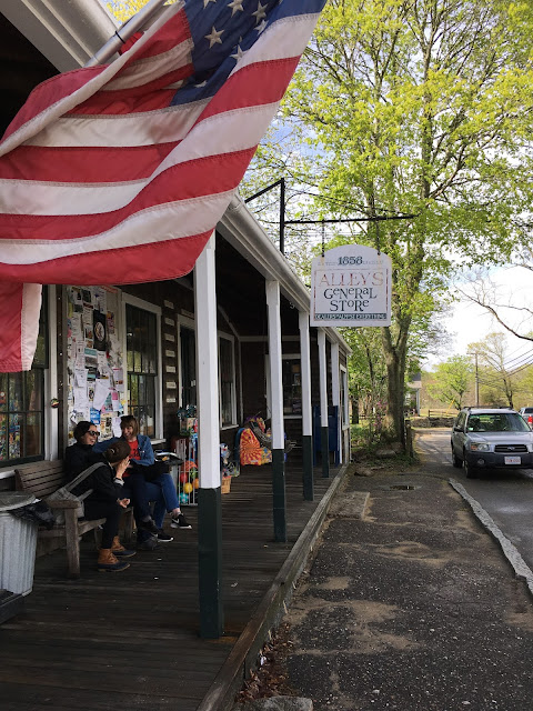 Alley's General Store in West Tisbury