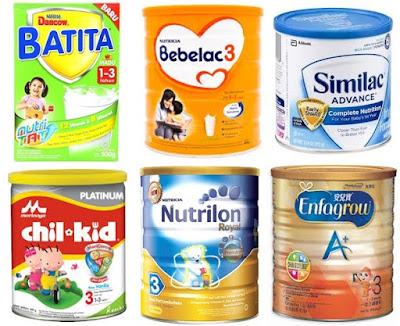 Cara Memilih Susu Formula