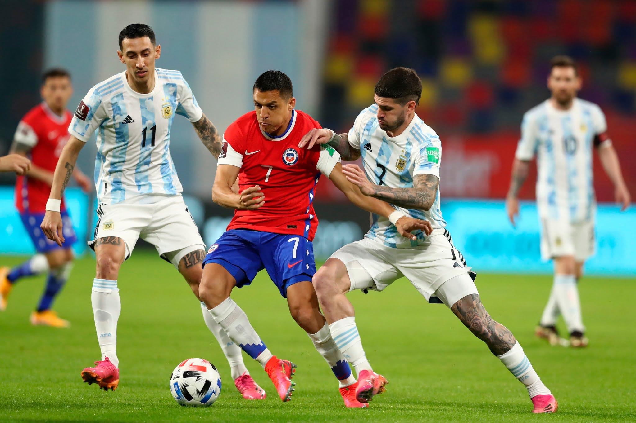 Argentina y Chile en Clasificatorias a Catar 2022, 03 de junio de 2021