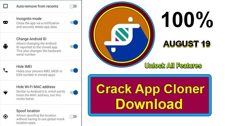 App Cloner Premium Apk Crack Unlock Download 2019 ~ Crack