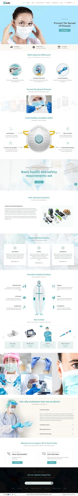 Download Medical Products Shopify Theme