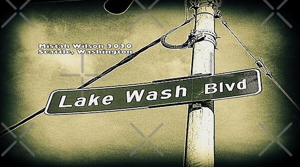 Lake Wash Boulevard, Seattle, Washington by Mistah Wilson