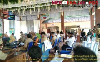 Babinsa Dan Bhabinkamtibmas Dampingi Pelaksanaan Penilaian Lomba Tingkat Desa