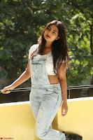Neha Deshpande in Spicy Denim Jumpsuit and Whtie Crop Top March 2017 105.JPG