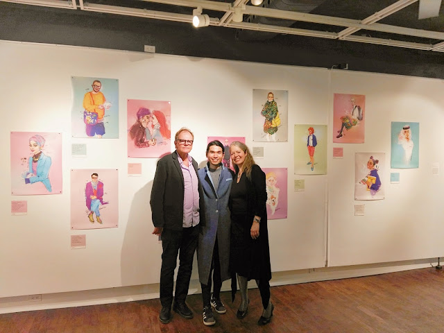 Ben Liu, Shades of Montreal, Queer & Peace Exhibition at Dawson Warren G. Flowers Art Gallery,