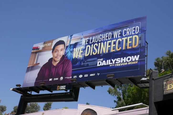 Trevor Noah 2020 Emmy FYC billboard