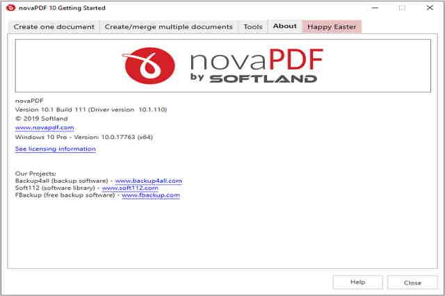 تنزيل برنامج تحرير وتحويل ملفات بي دي إف بكل سهولة novaPDF