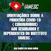 Senador Canedo: Iamesc traz orientações sobre atendimentos em casos suspeitos de Covid-19