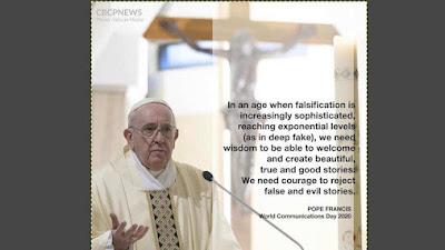 Katolik itu Hanya Satu, Jika ada Katolik Bergaris, Katolik darimana itu?