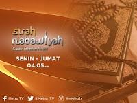 Sirah Nabawiyah - Jadwal Kajian di TV Nasional