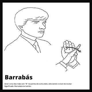Barrabás em Libras