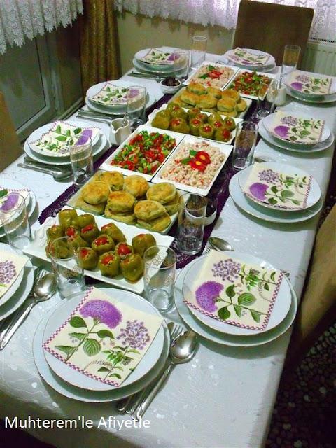 iftar yemeği masası resimleri