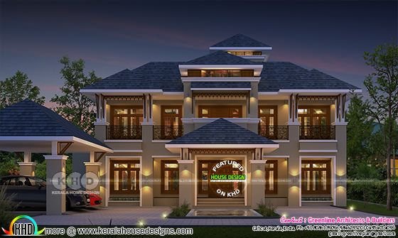 Stylish modern contemporary home 3565 sq-ft