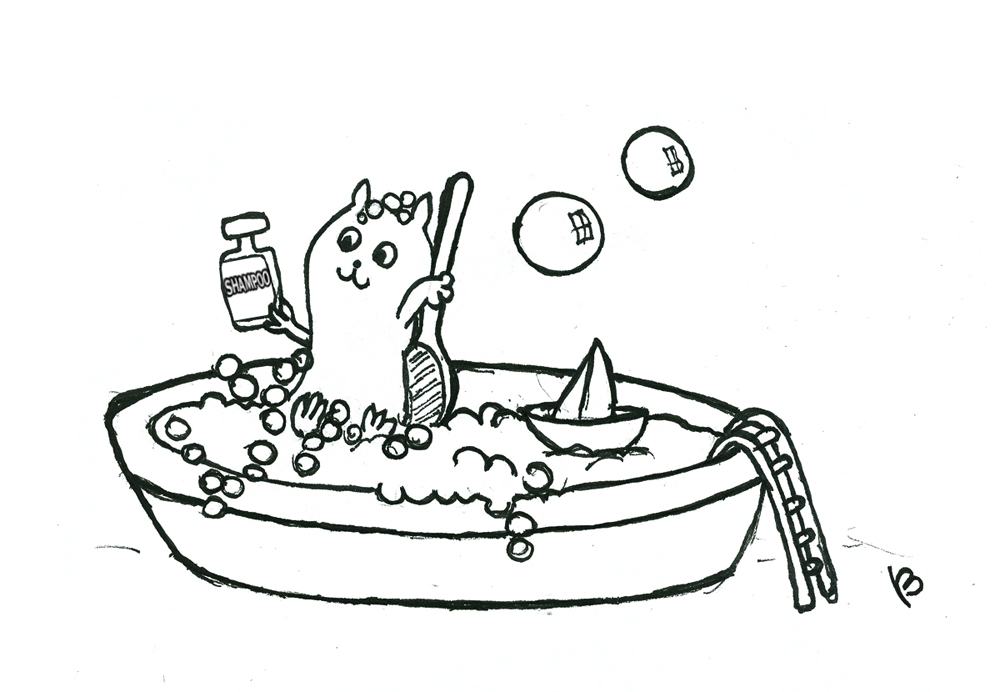 Life At Work: BISCUIT AND THE HAMSTER 3