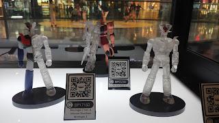 No os perdáis la exposición de figuras Banpresto en el C.C. Arenas (Barcelona).