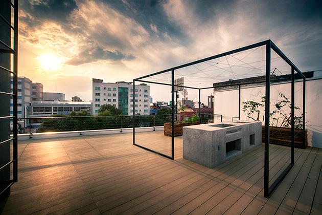 Casas Minimalistas Y Modernas Terrazas Contemporaneas