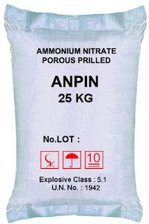 pupuk amonium nitrat