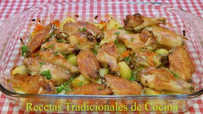 Receta de alitas de pollo con ron miel, un plato muy fácil, buenísimo y económico
