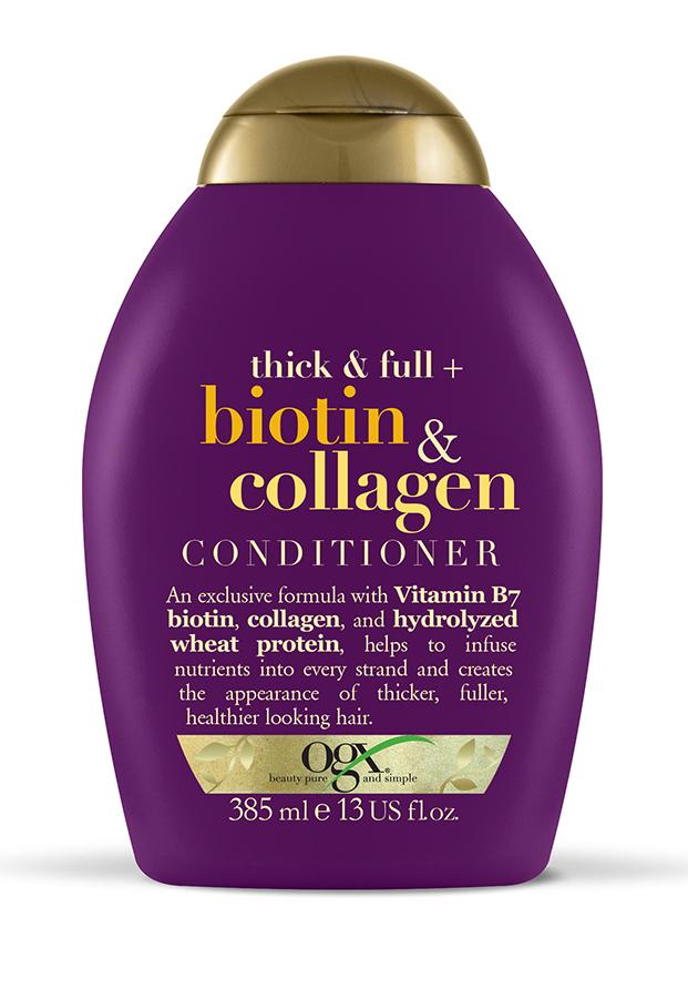 Acondicionador de biotina y colágeno de OGX
