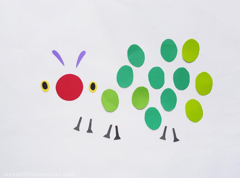 printable caterpillar template