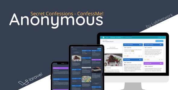Anonymous Code Web Tâm Sự Thầm Kín - Secret Confessions