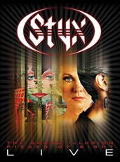 Styx – Pieces of Eight – Grand Illusions Live – DVD 2011