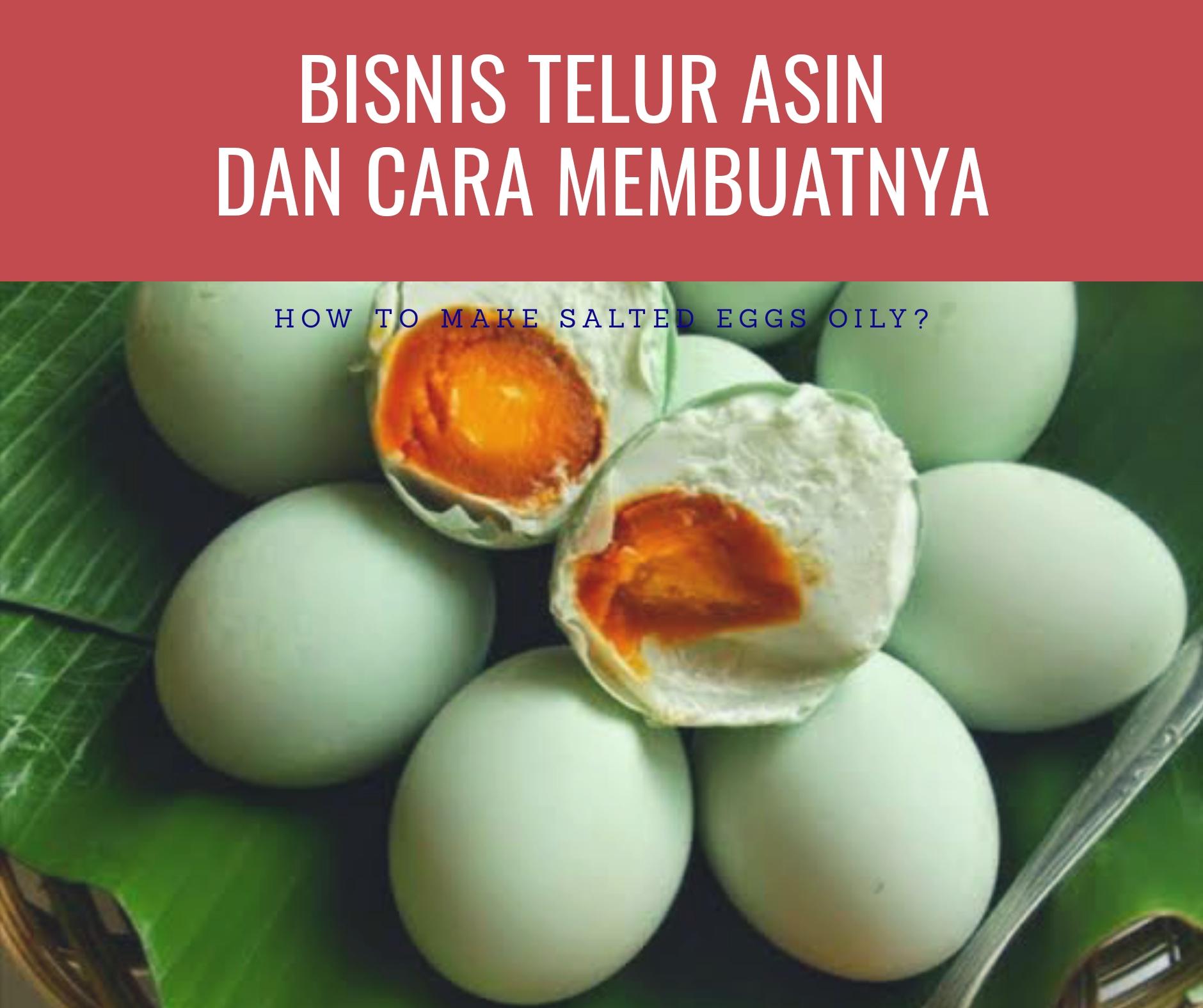 Cara Membuat Telur Asin Mudah Enak dan Anti Gagal