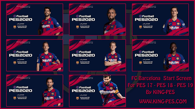 FC_Barcelona 2020 Start Screen For PES 17 - PES 19 By KING-PES