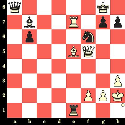Les Blancs jouent et matent en 4 coups - Samuel Reshevsky vs Jan-Hein Donner, Santa Monica, 1966