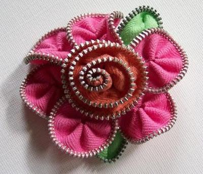 Ideias de como fazer artesanato com zíper