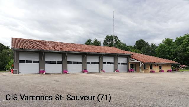 Caserne Pompiers Varennes St-Sauveur