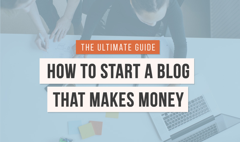 How to Start Making Money Blogging - #infographic