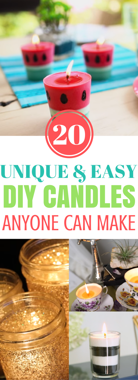 Diy, Candles, Diy Candles, Diy, Candles Tutorial, Cute Candles, Easy Candles, Easy Diy Candles, Diy Crafts, Craft Ideas, Diy Candle Crafts