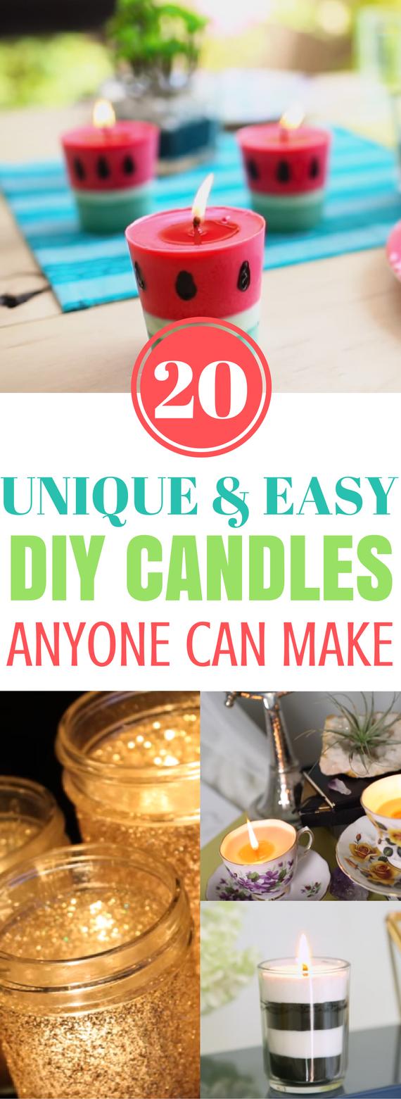 Diy, Candles, Diy Candles, Diy, Candles Tutorial, Cute Candles, Easy Candles, Easy Diy Candles, Diy Crafts, Craft Ideas, Diy Candle Crafts