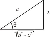 Triângulo retângulo - seno