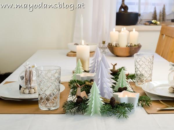 Weihnachtsrückblick 2019 mit wunderschöner Tischdekoration und DIY Christbaumschmuck