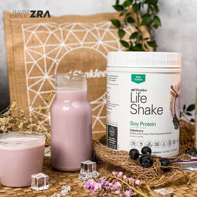Produk Baru Shaklee: Life Shake Elderberry - Ziana Eunos