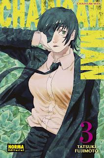 Reseña de CHAINSAW MAN vol. 3 de Tatsuki Fujimoto - Norma Editorial.