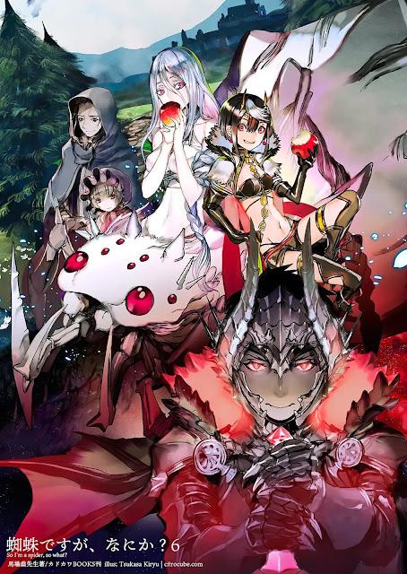 A Light novel de 'Kumo desu ga Nani ka?' ultrapassa 4 milhões de cópias em circulação