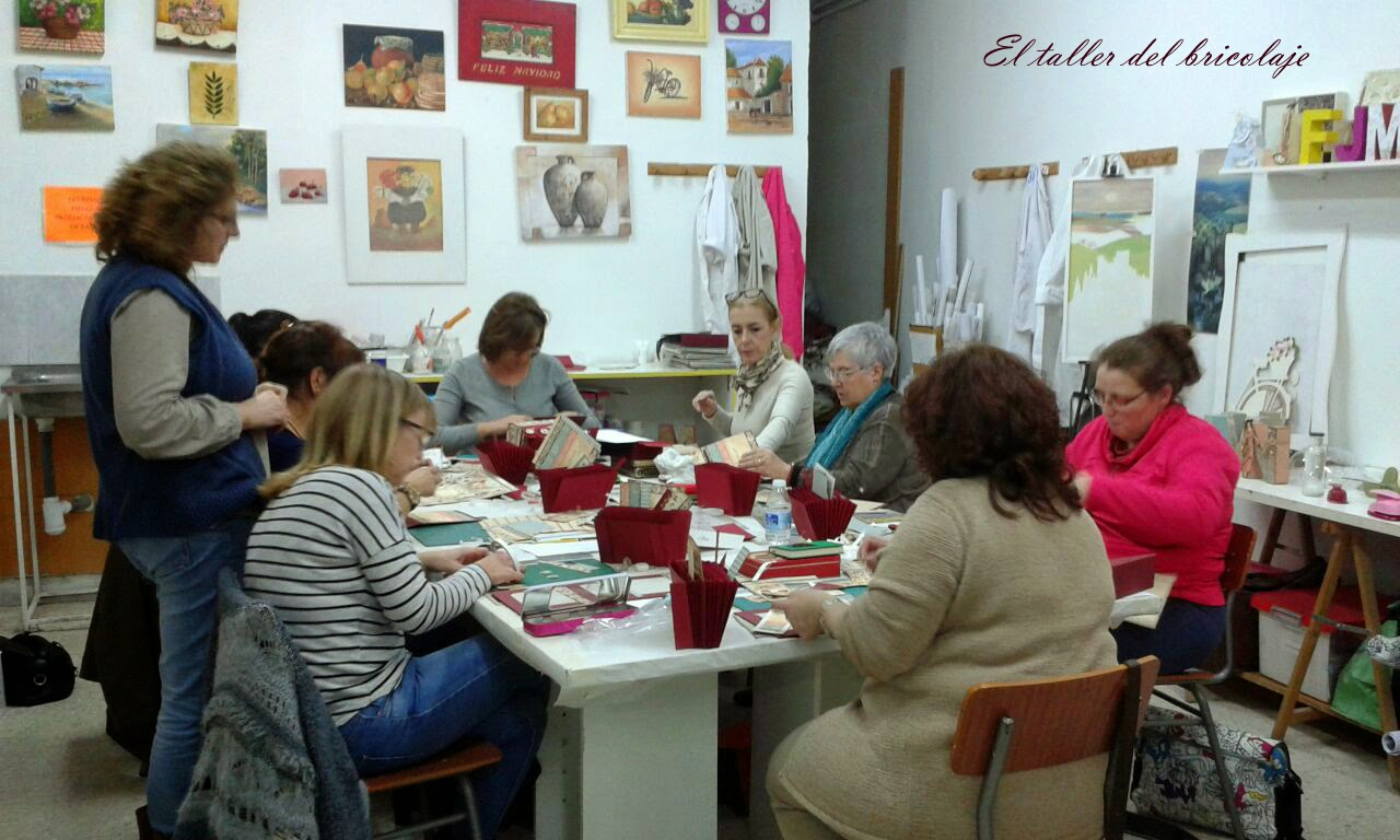 El taller del bricolaje 2 curso de scrap archivador - Curso de bricolaje ...