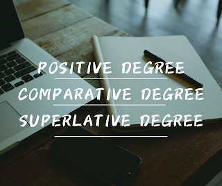Comparison of degree