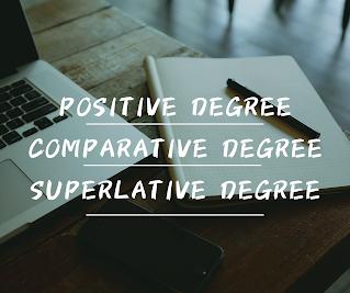 Pengertian Comparison of degree