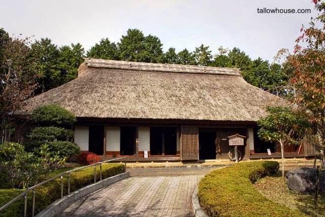 Modelo de casa tradicional japonesa